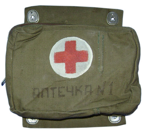 Russian Army bag military medicine chest
