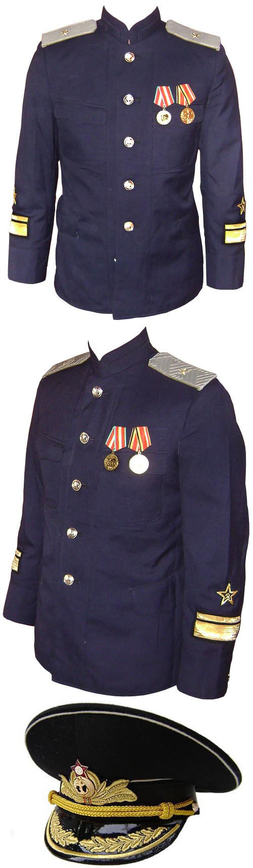 Russian Naval ADMIRAL JACKET Suit USSR military Uniform
