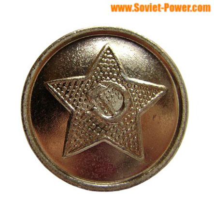 10 small buttons for USSR Army Officer uniforms