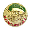 Spetsnaz badge SOLDIER OF LUCK Green Beret