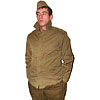 Warm quilted Jacket with trousers from Russian Army