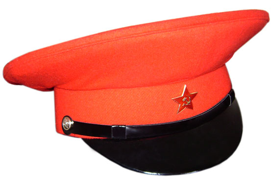 USSR Bloody General red visor hat