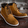 Rust Nubuck brown leather waterproof boots