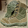 Tactical SABOTEUR Olive high leather boots
