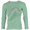 Russian Army knitted Border Guards green striped shirt