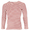 Russian red striped Spetsnaz Internal Troops knitted shirt