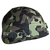 Camouflage cover for head protection helmets