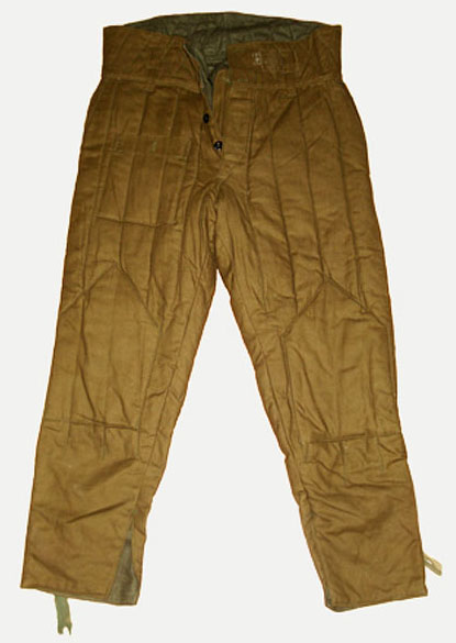 USSR Army military Trousers from Fufaika