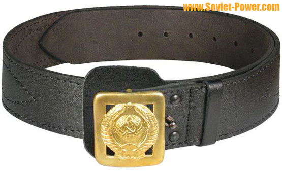 Soviet POLICE General belt with USSR Arms