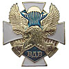 Russia Army PARATROOPER badge Air Force white cross VDV