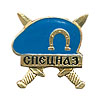 Russian VDV Airborne Spetsnaz badge blue beret