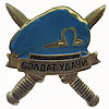 "Russian VDV Metal SPETSNAZ badge ""SOLDIER OF LUCK"""