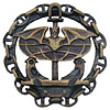 Russian NAVAL SCOUTING Military Metal Badge SPETSNAZ