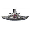 Soviet Silver SUBMARINE COMMANDER BADGE Navy USSR Fleet