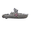 Soviet Silver SURFACE SHIP COMMANDER BADGE Naval Fleet
