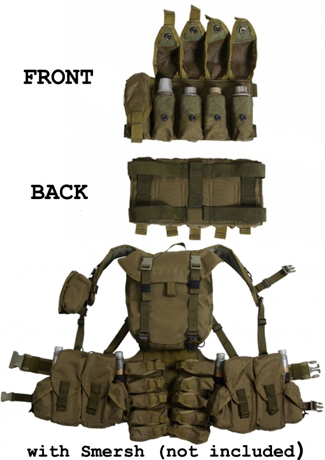 VOG5M Russian equipment pouch for 5 grenade shots