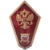 Russian MILITIA SCHOOL Metal Badge Police Academy eagle
