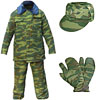 Russian Army FLORA CAMO winter Uniform kit
