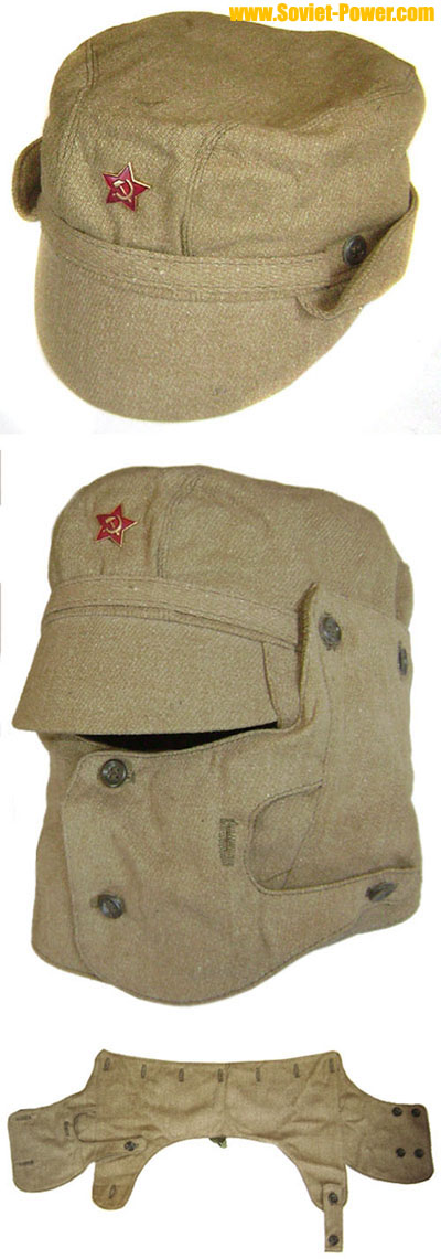 Russian / Soviet Military AFGHANISTAN war cap with mask