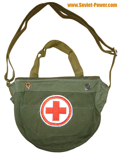 Military doctor bag for medical items