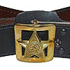 Russian Army military GENERAL everyday leather belt