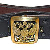 Russian Army GENERAL special military leather belt RF