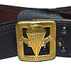 Russian Army AIRBORNE military Officer leather belt