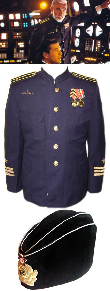 Sean Connery costume from The Hunt for Red October - SUBMARINE COMMANDER  for sale - buy online