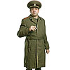 Soviet Army Officers green military Russian Overcoat
