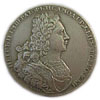 Peter II - silver POLTINA Russian coin 1727