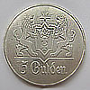 5 Gulden Dutch silver coin 1923