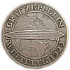 "5 Reichsmark silver coin ""Graf Zeppelin"" flight 1930"