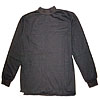 Black military style golf warm sweater