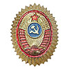 Soviet POLICE Officer COCARDE hat insignia