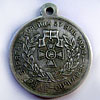 "Russian Silver Medal for ""Fight of Varyag and Koreec"""
