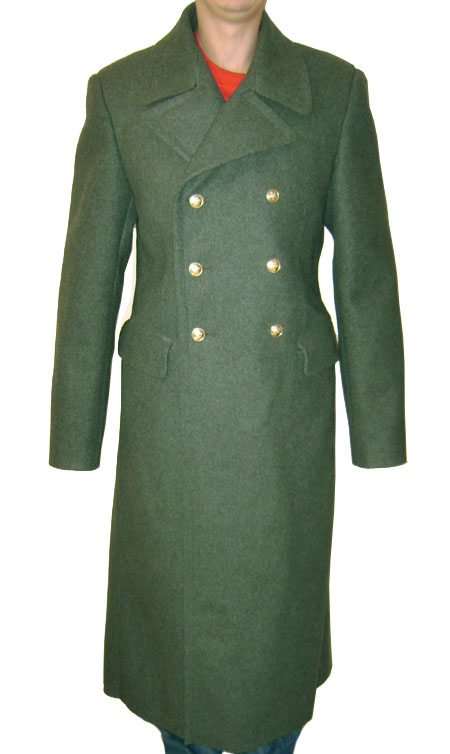 Border Guards military Great Coat winter Overcoat
