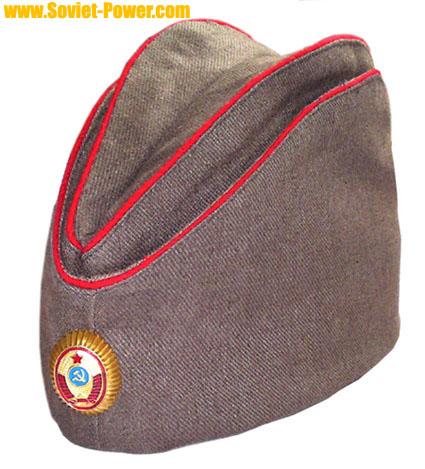 11e842670 Soviet / Russian POLICE Officer PILOTKA hat for sale - buy online