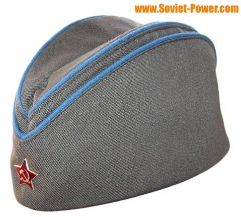 fb855f8059d7e Soviet Military AIR FORCE hat PILOTKA + badge for sale - buy online