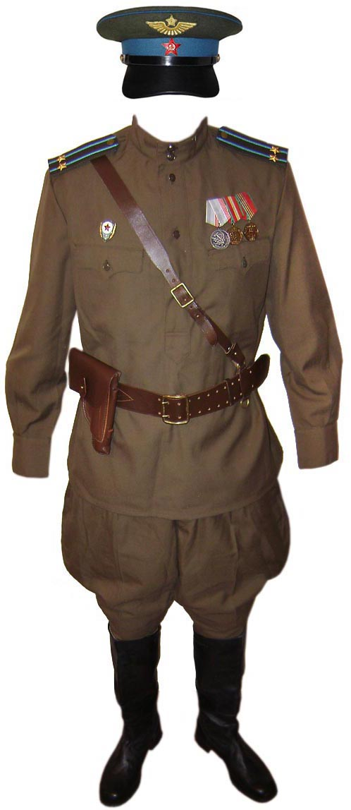 Soviet Air Force Officer Russian Military Uniform For Sale