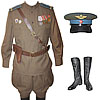 Soviet Air Force Officer Russian military Uniform