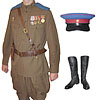 Russian Army NKVD Officer USSR military Uniform