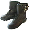 Russian Army special WINTER FUR BOOTS genuine leather