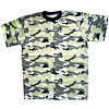 Russian Army 4-color yellow camouflage T-shirt